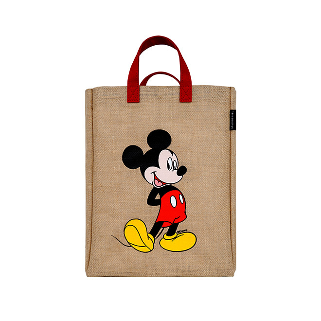Mickey Shopper Bag(Red)_F